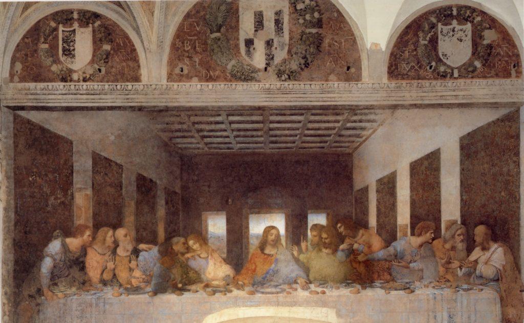 Leonardo da vinci misteri tecniche ed enigmi che for Il cenacolo bagno di romagna